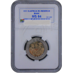 The SARB 90th Anniversary R5 - Mint State MS 64