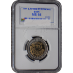 The SARB 90th Anniversary R5 - Mint State MS 65